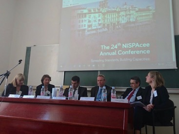 "NISPAcee Conference ""Spreading Standards, Building Capacities: European Administrative Space in Progress"""